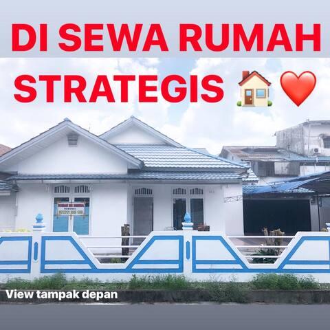 DiSewa Rumah Strategis Di pontianak