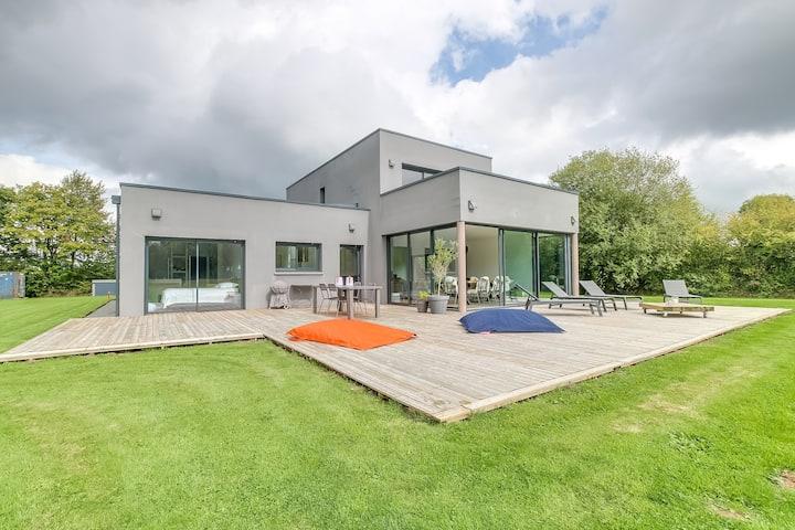 SPLENDID MODERN  HOUSE - NEAR DEAUVILLE HONFLEUR