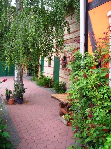 Ferienwohnung auf ehem. Bauernhof Nähe Schorfheide - Liebenwalde