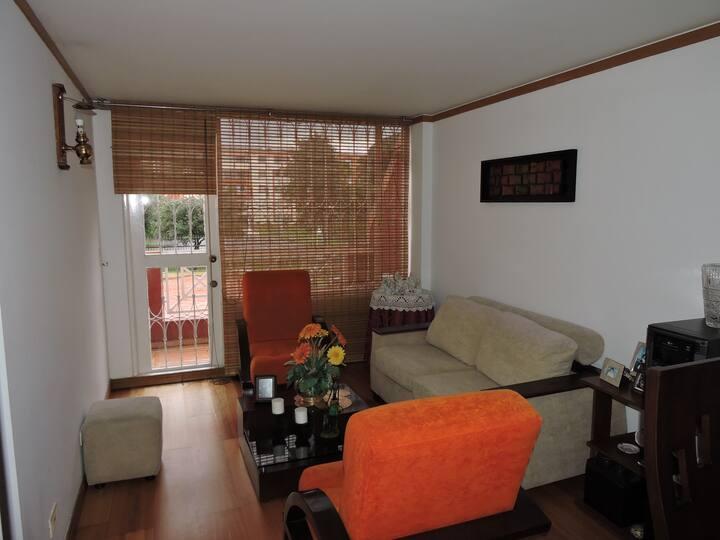 ¡Acogedor apartamento al norte de Bogotá!