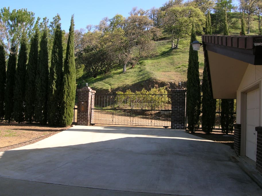 Front Gated Entry