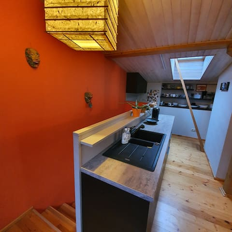 fully equipped kitchen for your own use