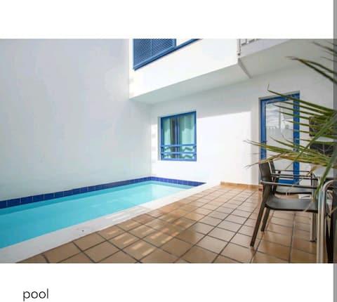 Apartamento Papagayo con piscina privada