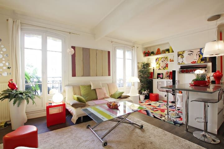 Lovely 1 BR Grenelle Eiffel For pro/students only