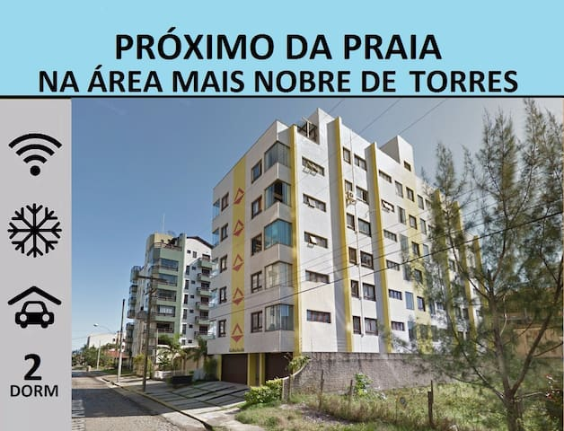 Ótima Localização, 2D, WiFi, Ar-C, Garagem e Limpo - Torres - Appartamento