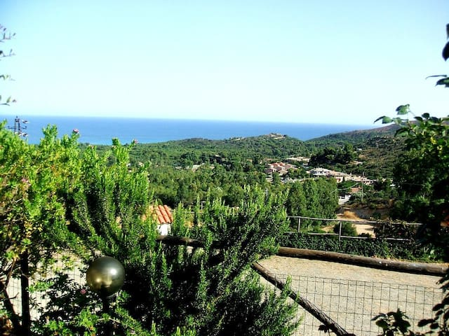VILLA PEPPINO A 5 MINUTI DAL MARE - Santa Margherita di Pula - Apartemen
