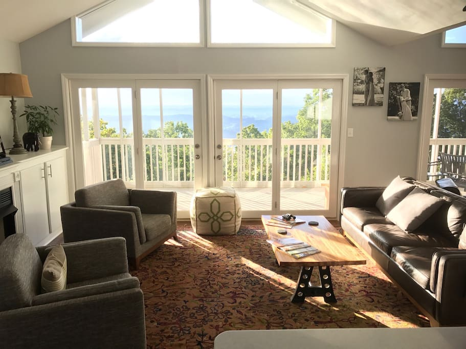 Breathtaking views from the living room!