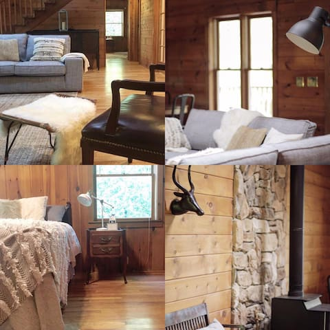 Quiet, Spacious Cabin Retreat near Lake Lanier - Landrum - Cabin