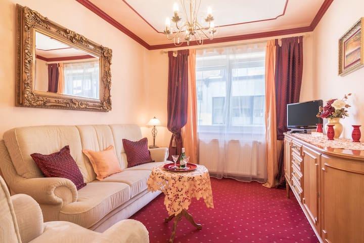 """Zentral gelegene Wohnung """"Haus Marschall - Wohnung 3"""" direkt am Bodensee mit WLAN und Terrasse"""