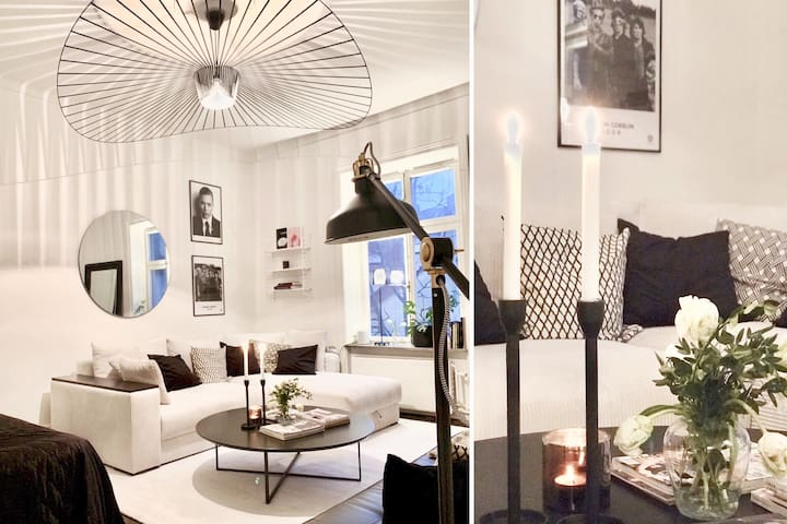 Modern & cool top location apartment in Stockholm