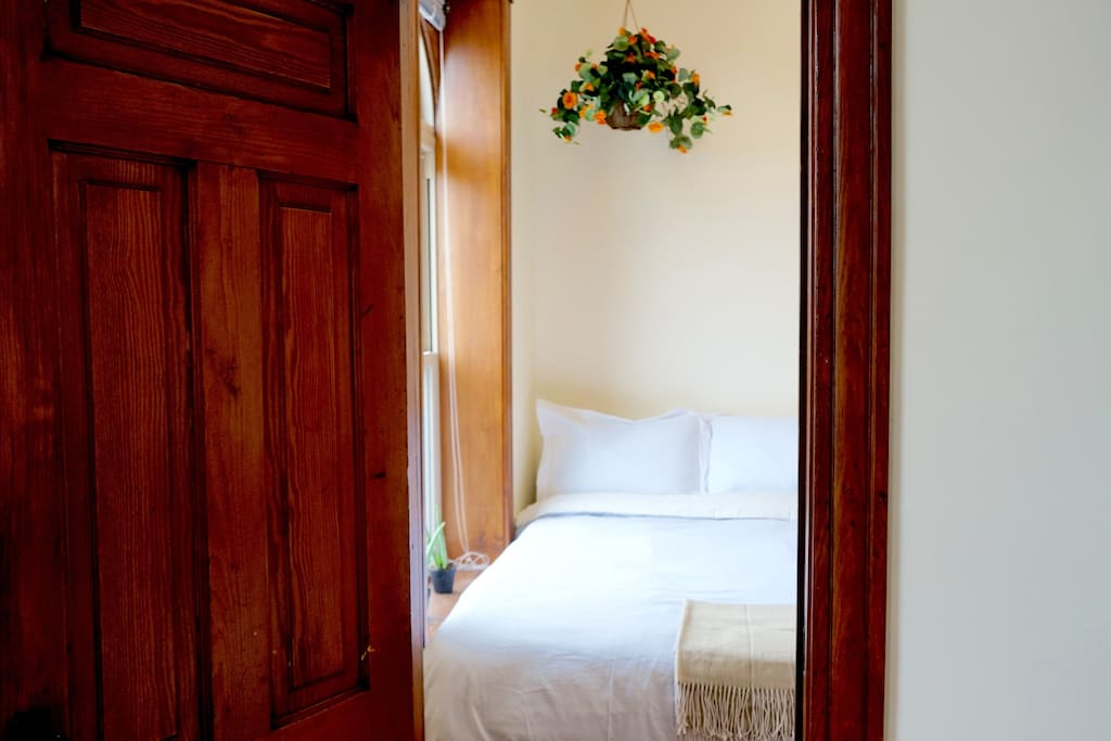 Classic wooden doors and frame