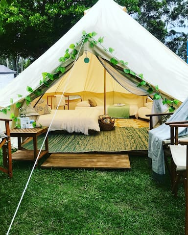 South Coast Luxury Camping
