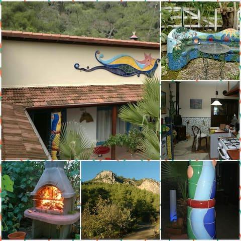 DÖRTNAL- Unique Art Villa near sea - Hisarönü Köyü - 別荘