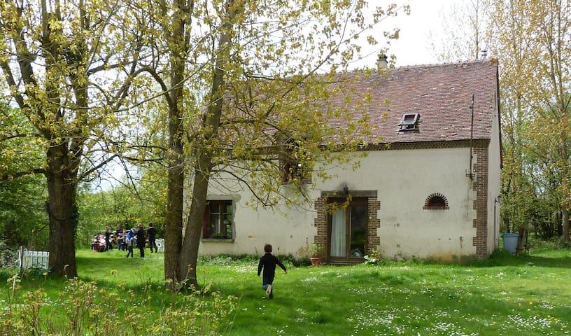La Blottière (fermette équipée en maison d'hôtes). - Charbonnières - Huis