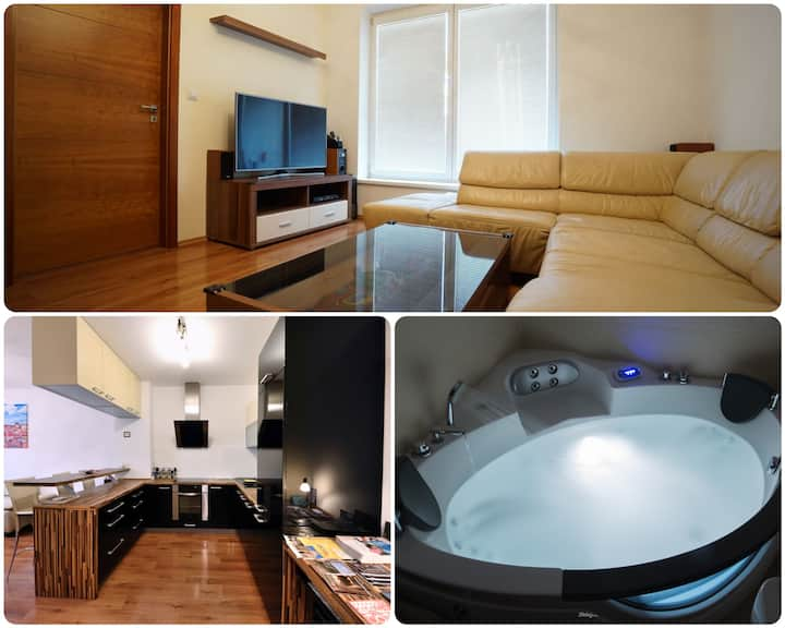 Luxury Apartment City Centre Brno with A/C