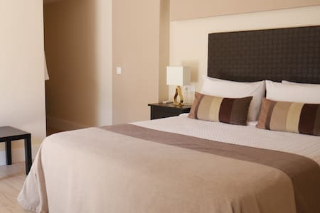 Luxury King-Size bed at La Perla Blanca, Ronda