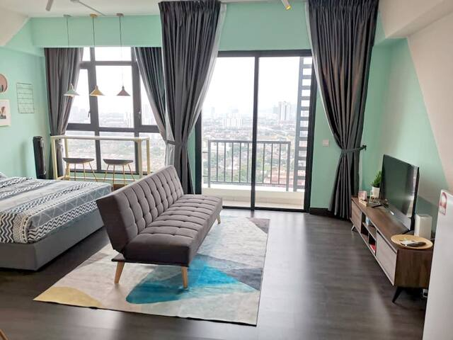 4pax Lakeside Cozy KL City View Design Studio 中文房东