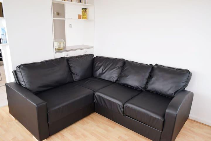 Sofa bed closed