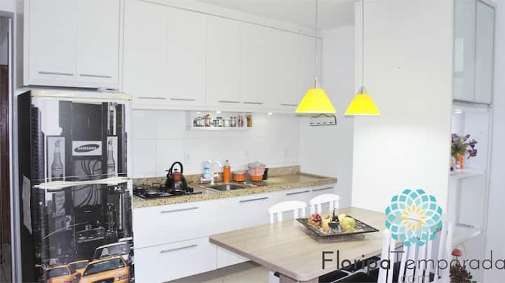 Apartamento agradável e aconchegante