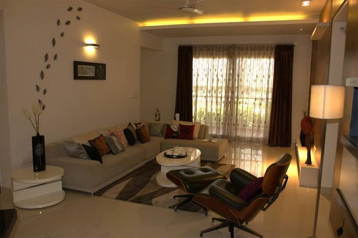 Cozy 3BHK Apartment with good view - Bengaluru - Lakás