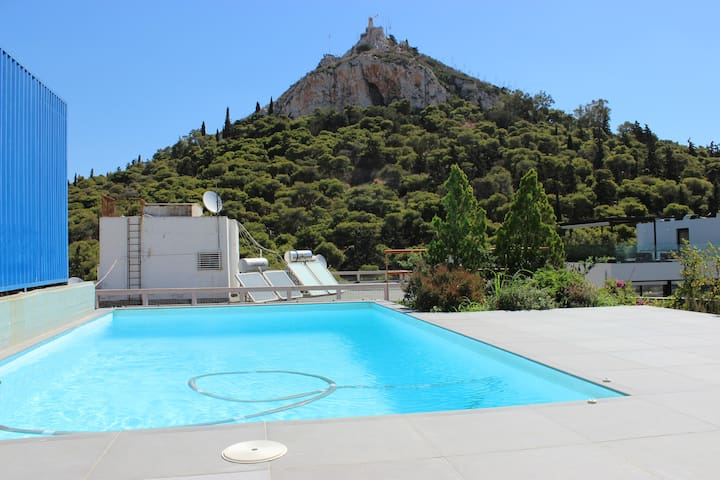 The Lycabettus view