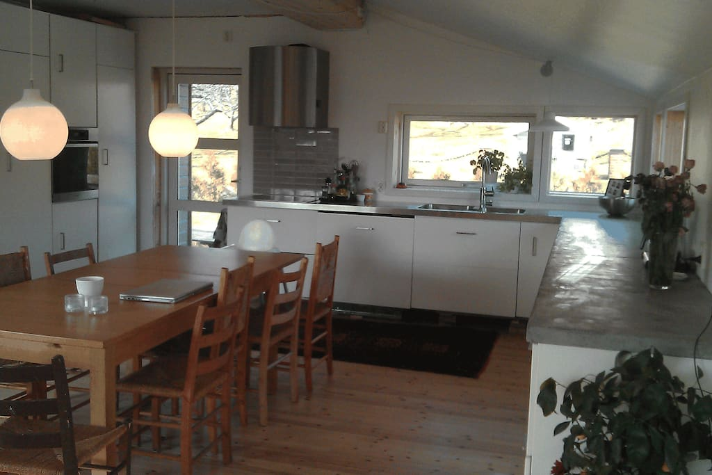 Kitchen- with access to terrace