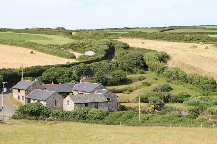 Greenway; Family coastal rural barn, Hartland