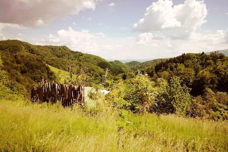 Come to the hill of love and stay in pri lipi hut