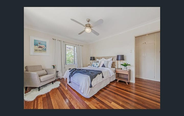 Clean and spacious double bedroom
