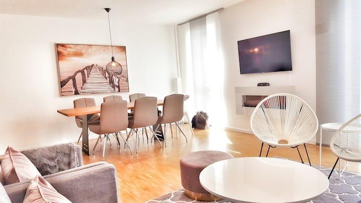 101qm Luxus-Wohnung,Messe München nur 5min zu Fuß!