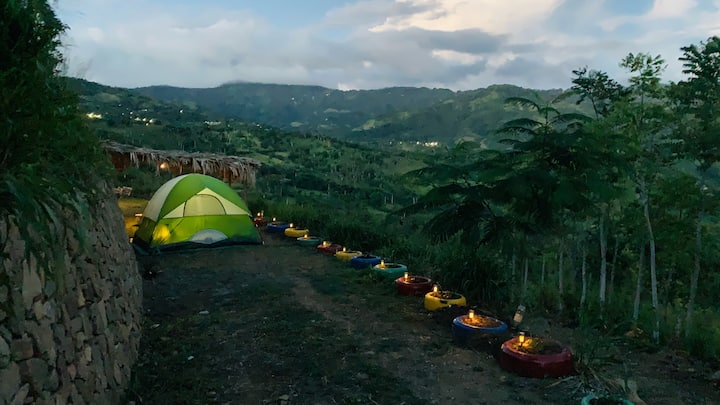Tent Mirador, Casa de campaña en la montaña