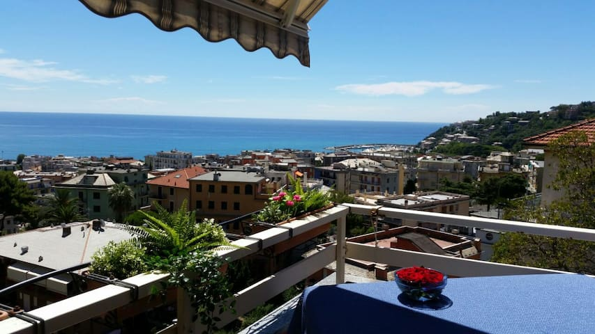 Arenzano Zuhause mit bezaubernder Aussicht