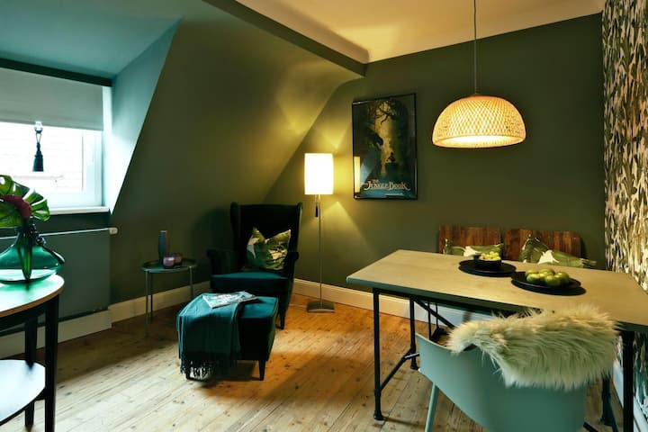 Exclusive Cityapartment-Boutiquehotel Style-Green