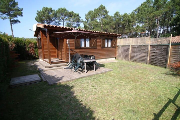 Chalet proche océan-forêt (été) - Vielle-Saint-Girons - House