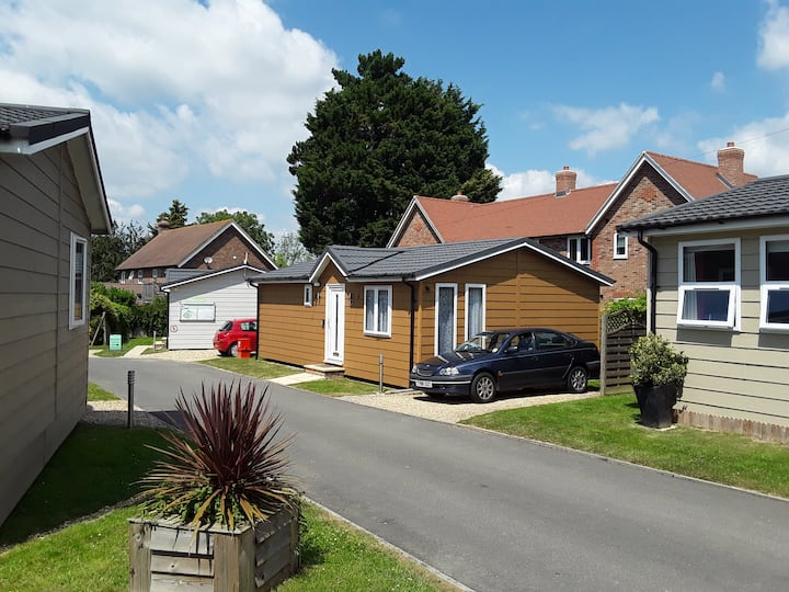Detached chalet bungalow in rural Sussex