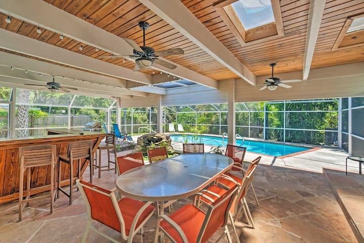 Siesta Key 'Casa Serena' w/Private Pool + Lanai!