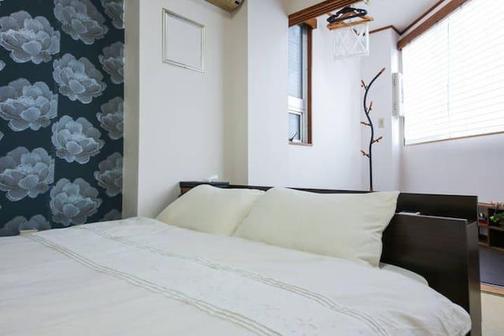 H14-2 JP Style|GinzaTUkiji area|WIFI|MAX4 - Chūō-ku - Apartment