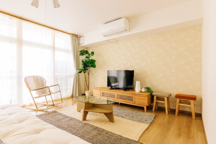 Large Nicely Furnished House in Akiba w/ Max 7ppl