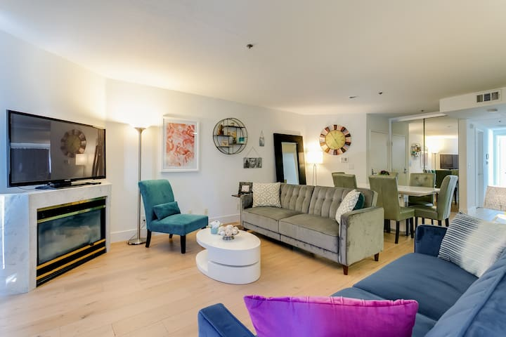 5-Star Beautiful 3-Bedroom Apt With Large Sundeck
