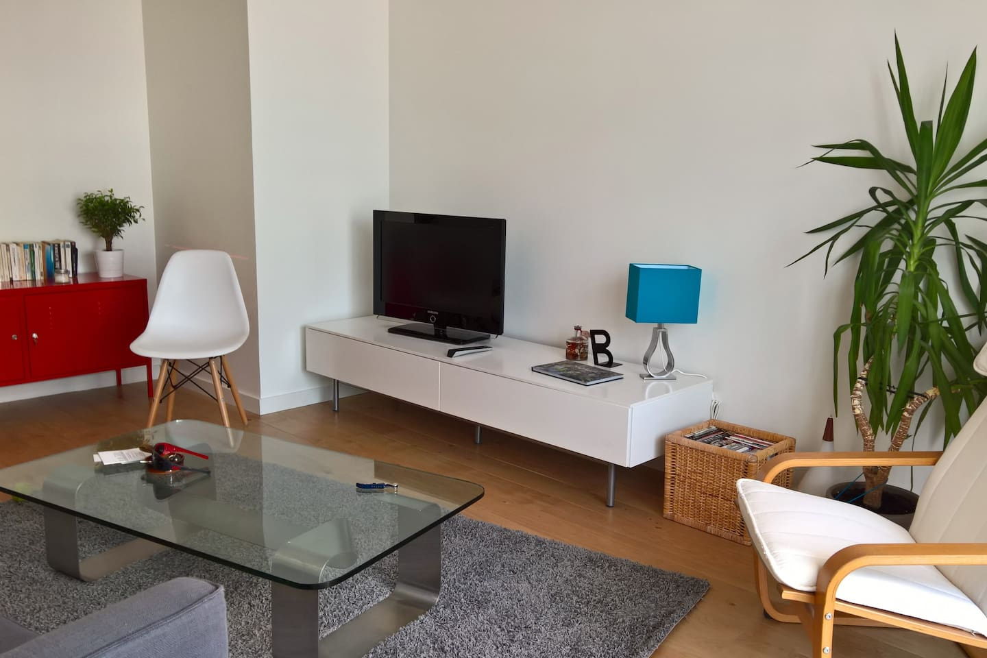 3 rooms apartment in the heart of the city