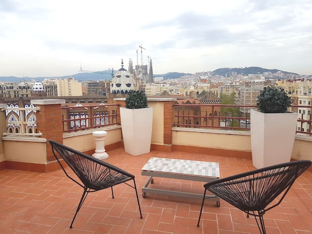 Penthouse Barcelona, une vue incroyable ...Smile