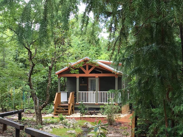 Twin Oaks Tiny House