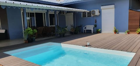 Charming studio(2), opposite the beach of Les Roches