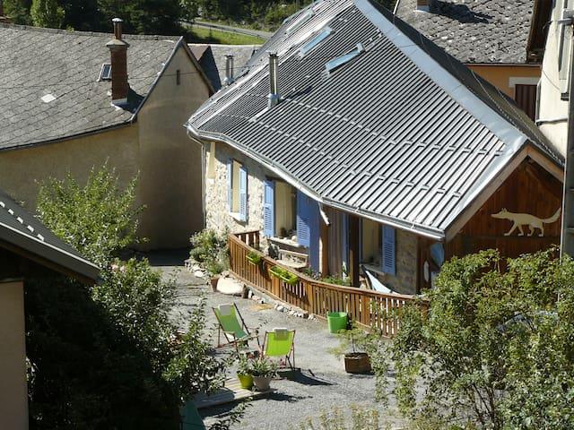 44 m carrés maison ancienne barcelo - Saint-Pons - Daire