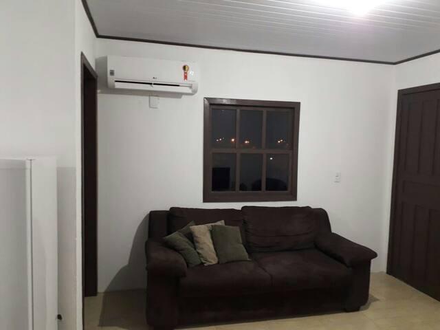 Ar condicionado,sofá três lugares,vista maravilhosa para Gramado!!!