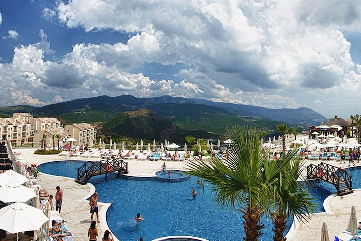 Kusadasi Golf & Spa Resort 2 Bed 2 Bath apartment - Söke - Flat