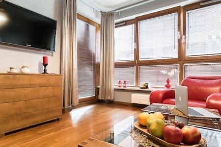 Charming apartment Wilanów LUX, free garage, WiFi - Warszawa - Pis