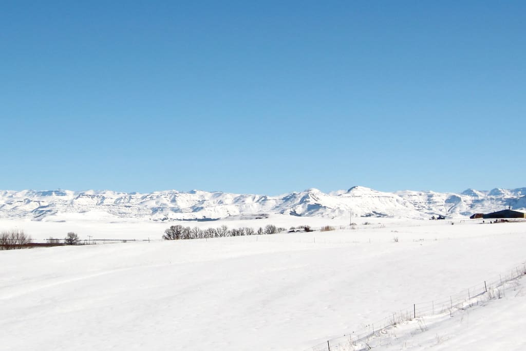 Visit us during our winter months and enjoy the snow!