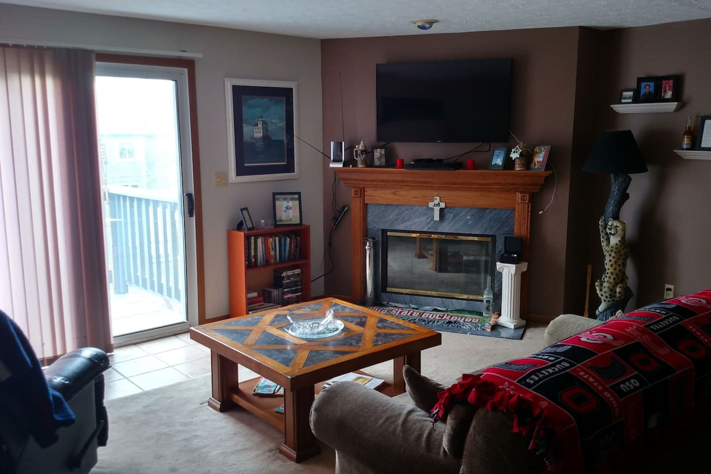 Family Room and Entertainment Center- Guest's will have unlimited access to this space