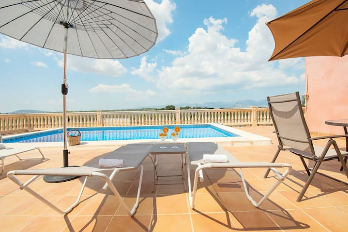 House Costitx, 6 pax, Wifi, private pool, AACC!!!
